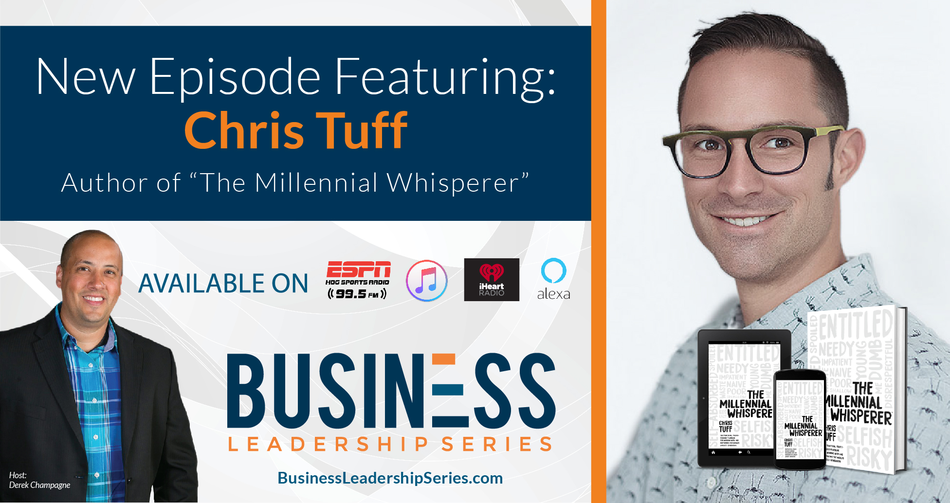 "Interview with Chris Tuff, Author of ""The Millennial Whisperer"""